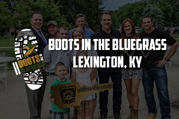Boots in the Bluegrass event